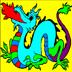 Dragon Coloring book