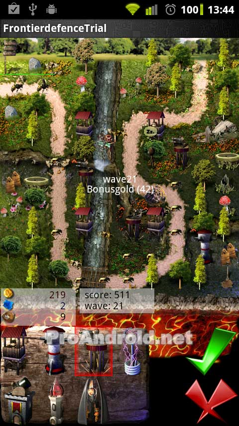 Android Games Grave Defense HD 1.10