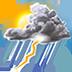 Weather Forecast & Clock Widget